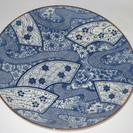 ※純和風 藍色模様の和皿 / 大皿 / 食器