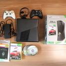 XBOX360 (250GB Black) + ゲーム(およそ20...