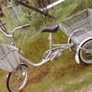 大人用三輪車(ブリヂストンワゴン ミンナ)美品