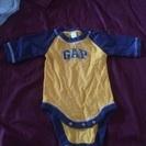 babyGAPの長袖ロンパース サイズ60