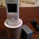 Panasonicコードレス電話機VE-GDS01DL