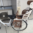 自転車 後部用 チャイルドシート