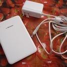 【上に置くだけ】ワイヤレス充電パッド NTTドコモ ワイヤレスチャージャー F01の画像