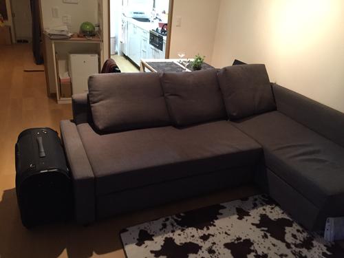 IKEA L字コーナーソファベッド (FRIHETEN) (とらチャン) 堺市の家具 ...