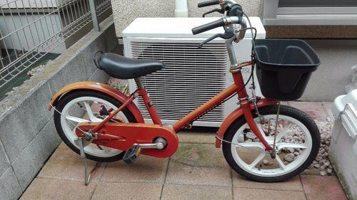 【終了しました】MUJI 16インチ 子供用自転車 無印良品 補助輪&