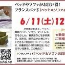 ★6/11(土12(日)新宿アイランド『ベッド&ソファお買得セール』