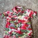 お祭りで着用^ ^ mickeyアロハシャツ サイズ110
