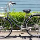 【値下げ】自転車 美品 6段変速 オートライト 27インチ