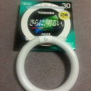 終了  未使用品 TOSHIBA 丸型蛍光灯30形 1個