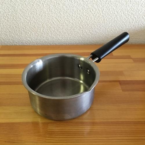 無印良品のステンレス両手鍋