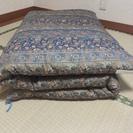 敷布団 ふかふかに仕立て直したもの ほぼ未使用