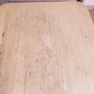 【値下げ】座卓 ナチュラル 収納に便利な折り畳み脚