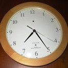 壁掛け電波時計