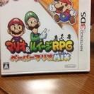 3DSソフト マリオ&ルイージRPG ペーパーマリオMIX ほぼ新品