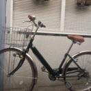 カゴ付き自転車