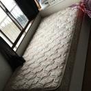 シングルベッド(マット・引き出し付) 長さ220x横98x高さ90cm