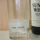 平成元年末、ウィスキ-「ホワイト」のおまけのグラス「いとしのグラ...