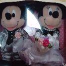ブライダルマウス ミッキー&ミニー お値下げ‼