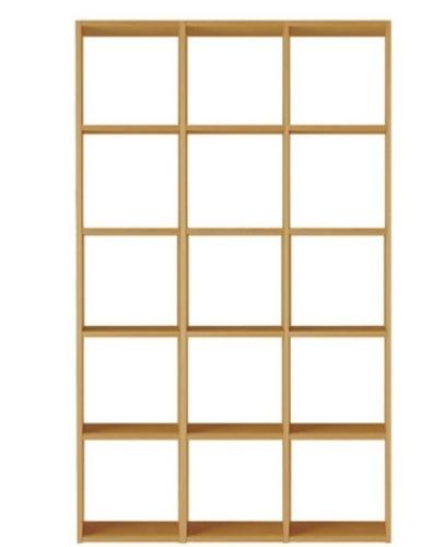 MUJI 無印 スタッキングシェルフセット 木製本棚 訳ありの画像