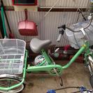 三段ギアチェンジ付き三輪車 高齢者用 ほぼ新品