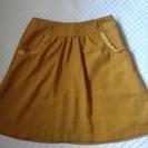 からし色 スカート Sサイズ