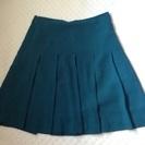 青緑 スカート Sサイズ