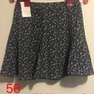 シフォン フローラルな スカート