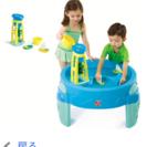お庭での水遊びに!used