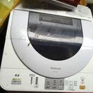 洗濯機2台無料ジャンクの画像