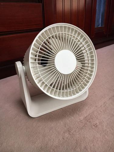 南12条 無印良品 扇風機 R30M-HRB ホワイト リモコン欠品 の画像