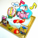 楽しいお誕生日ケーキの演出になっちのケーキいかがですか