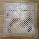 日本製 シルク100% 大判 スカーフの画像