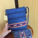新品 沖縄民芸品 ショルダーバッグとポーチ