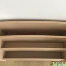 7,000円で購入◎極美品 木製 絵本棚 ナチュラル◎無印良品 好きに - 家具