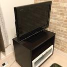 値下げ!!TOSHIBA 26インチテレビ テレビ台セット