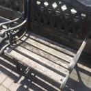 交渉中【値下げしました】ガーデン用テーブルと椅子➕吸じんマルチサンダー