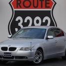 BMW 525 ハイライン 本革シート、ETC、HID、シートヒー...