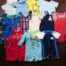 80~90ラルフ・オーバーオール、Tシャツ、水着、13枚セット