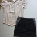 【セット販売】シャツ×スカート