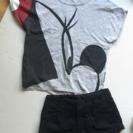 【セット販売】ミニーちゃんTシャツ×ショートパンツ