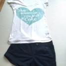 【セット販売】コカコーラTシャツ×ショートパンツ