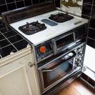 ビンテージキッチン!ガスコンロ、オーブンあげます。
