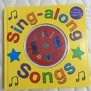 英語の絵本 Sing Along CD付き 子供用歌詞付き絵本