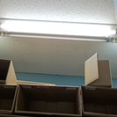 (再出品) 事務所で使用していた 電気3個セット 電灯