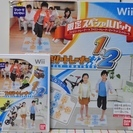 Wii ファミリートレーナー1&2と専用マット