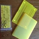 【新品】Macbook air 13インチ用 本体&キーボード用カバー