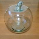 美品 5000円で購入したガラスの植木鉢 大サイズ リンゴの形💛...