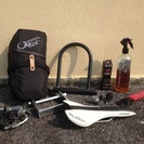 2009 Kuota Kharma カーボンロードバイク 輪行バッグ、サドル、ペダルなどおまけ - 売ります・あげます