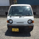 スズキ、エブリー☆ボコボコですが車検が29年12月まであります。
