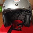 ◉ベル custom500 ジェットヘルメット シルバーフレーク!